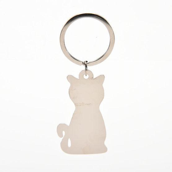 přívěšek na klíče kočka