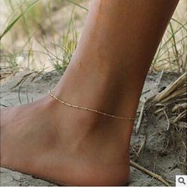 náramek na nohu jemný