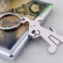 přívěšek na klíče pes