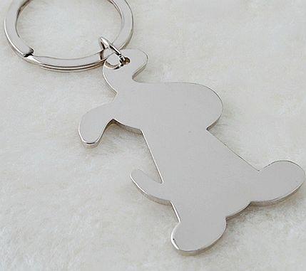 klíčenka pes rub