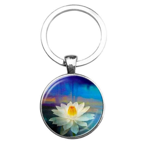 klíčenka mandala lotos květ