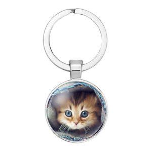 klíčenka kotě