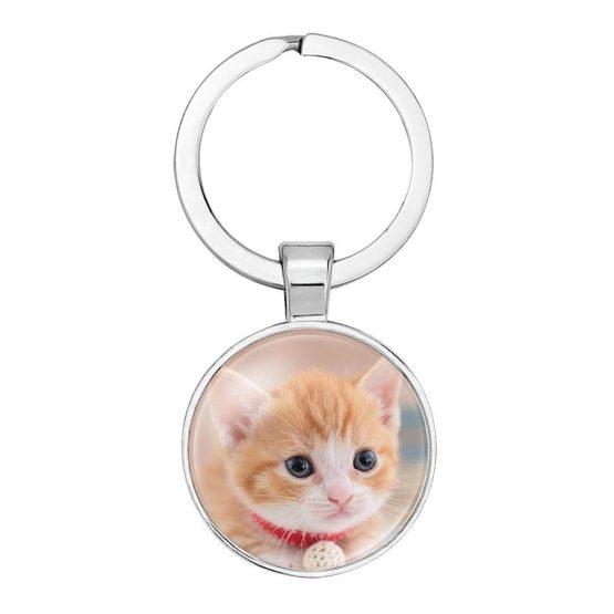 klíčenka kotě zrzek