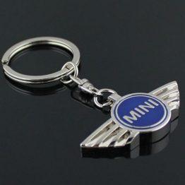 na klíče mini cooper modrá