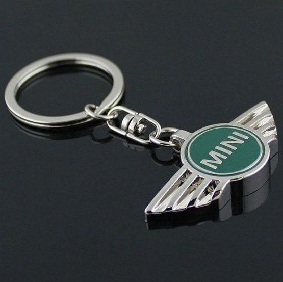 na klíče mini cooper zelený