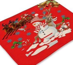prostírání vánoce