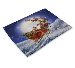 prostírání vánoční