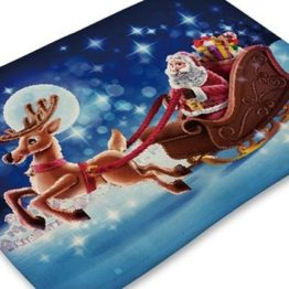 Vánoční prostírání látkové