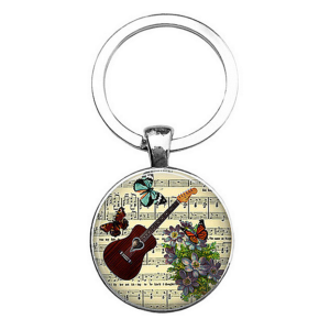 na klíče kytara akustická