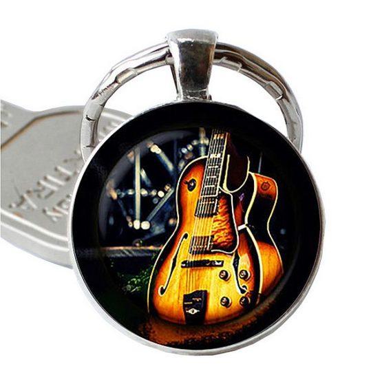 jazz kytara na klíče